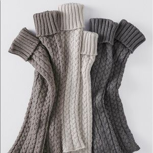 Woman's Studio Crochet Boot Knitted Leg Warmers